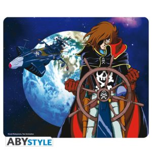 captain-harlock-mousepad-space-pirate