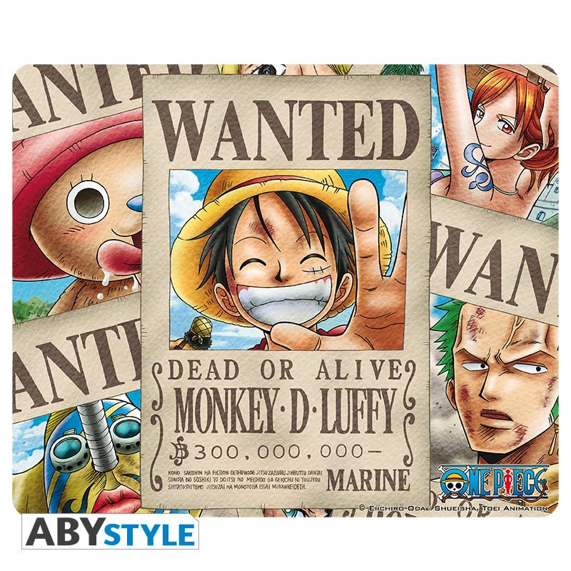 one-piece-mousepad-wanted-pirates