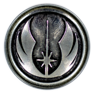 The Jedi Order metal emblem – Clicks