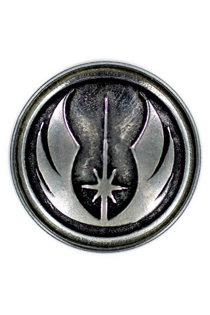 The Jedi Order metal emblem – Clicks